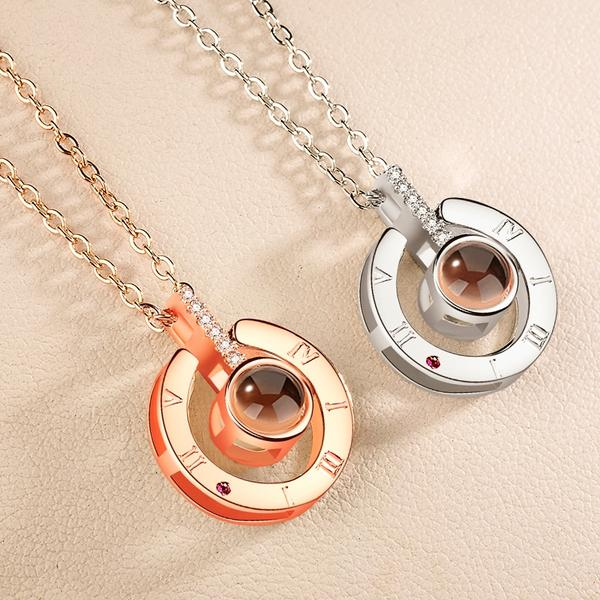 Collier i love you 100 langues