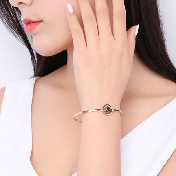 collection bracelet je t'aime 100 langues